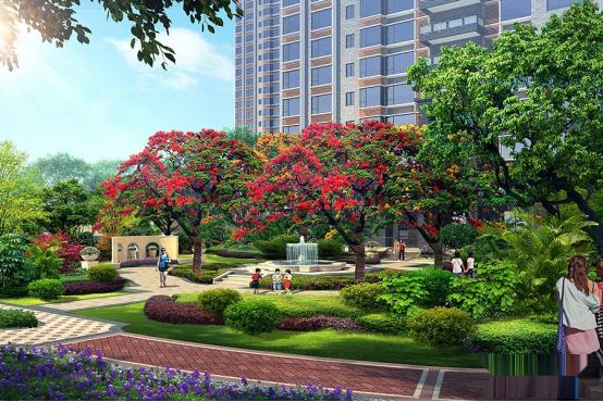南方铝业实力工程:惠州鼎峰公园豪庭