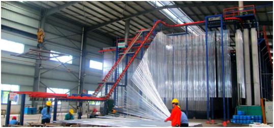 重磅消息丨南方铝业即将新增一条立式喷涂线